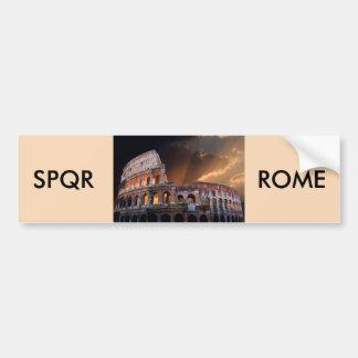 Le Colisé de Rome antique Autocollant De Voiture