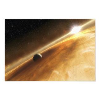 Le concept de l artiste de l étoile Fomalhaut Photo D'art