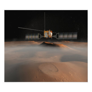 Le concept de l artiste du vaisseau spatial de Mar Photographie