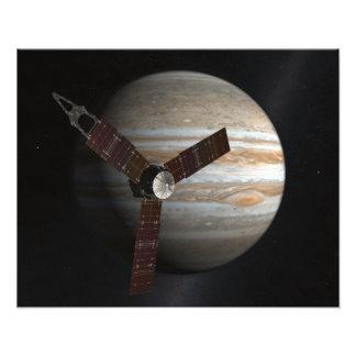Le concept de l'artiste du vaisseau spatial de impressions photographiques