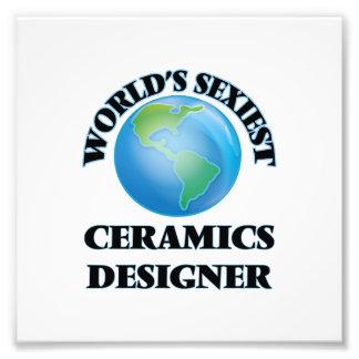 Le concepteur de la céramique le plus sexy du impressions photographiques