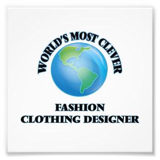 Le concepteur des vêtements de mode le plus impressions photographiques