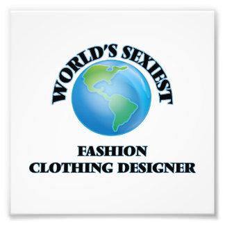 Le concepteur des vêtements de mode le plus sexy tirage photo