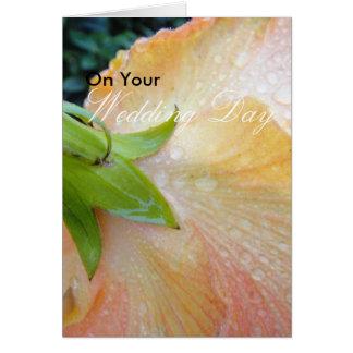 Le contact le plus tendre carte de vœux