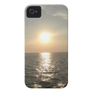 Le coucher du soleil à l'île de Bantayan aux Coque iPhone 4