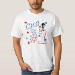 """Le """"cru est"""" chemise de la valeur #1 t-shirt"""