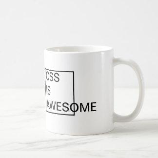 Le CSS bon marché est TASSE IMPRESSIONNANTE