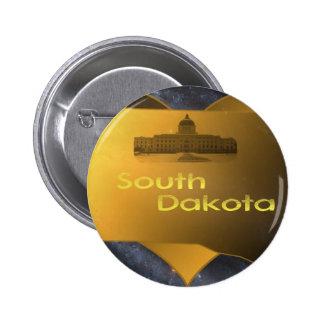 Le Dakota du Sud à la maison Pin's Avec Agrafe