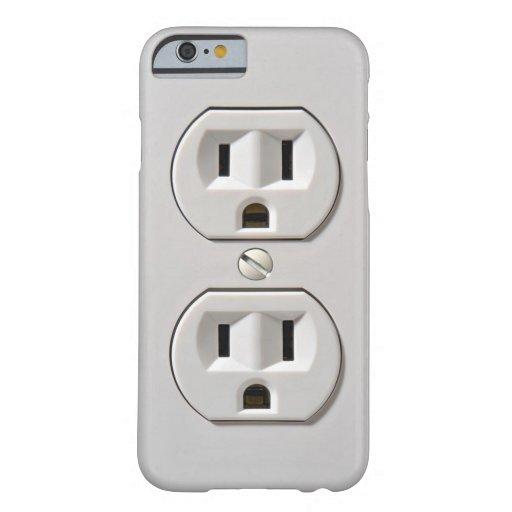 Le débouché électrique branchent coque iPhone 6 barely there