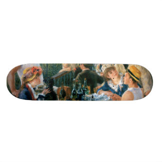 Le déjeuner de Renoir de la partie de canotage (18 Planche À Roulette Customisée