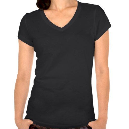 Le dessus mignon de T-shirt pour des femmes | gard
