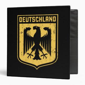 Le Deutschland Eagle - manteau des bras allemand Classeurs Vinyle
