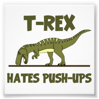Le dinosaure de Rex de Tyrannosaurus déteste des p Photo Sur Toile