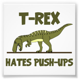 Le dinosaure de Rex de Tyrannosaurus déteste des Photo Sur Toile