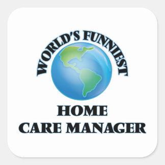Le directeur de soin à domicile le plus drôle du sticker carré