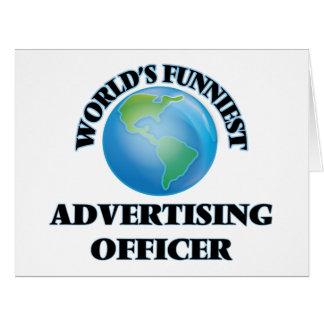 Le dirigeant de la publicité le plus drôle du carte de vœux grand format
