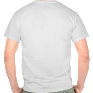 Le dos de T-shirt de zen de Yin Yang de chiens et