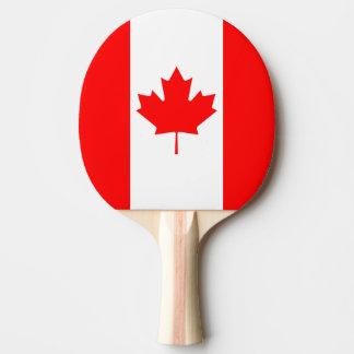 Le drapeau canadien, Canada Raquette De Ping Pong