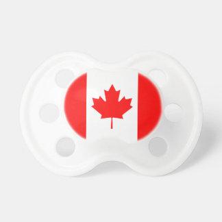Le drapeau canadien - souvenir du Canada Tétine