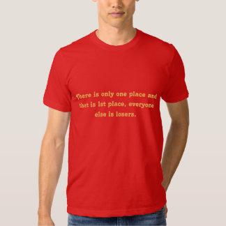 le ęr endroit est le seul endroit t shirts
