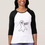 Le fantôme de Halloween huent le tour mignon ou le T-shirt