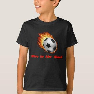 Le feu dans la pièce en t de but t-shirt