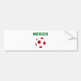 Le football 0319 du Mexique Autocollant De Voiture
