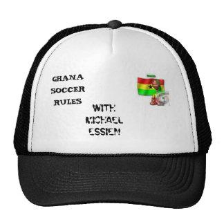 Le football 2, RÈGLES du Ghana du FOOTBALL du GHAN Casquette