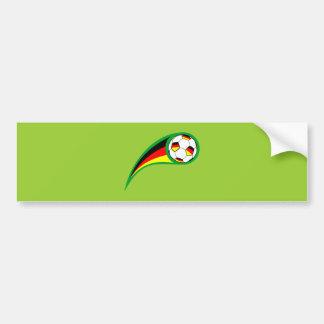 Le football Allemagne des Allemagnes soccer Autocollant Pour Voiture