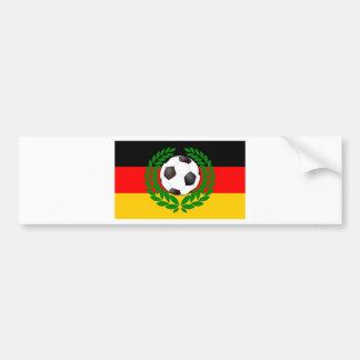 Le football Allemagne des Allemagnes soccer Autocollants Pour Voiture