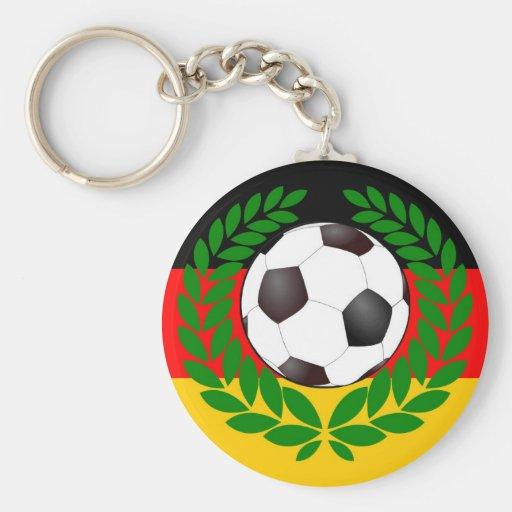 Le football Allemagne des Allemagnes soccer Porte-clé