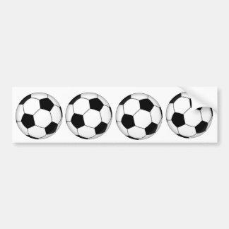 LE FOOTBALL AUTOCOLLANT DE VOITURE