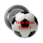 Le football badge avec épingle