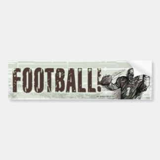 Le football ! Bumpersticker Autocollant De Voiture