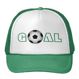 Le football, but, casquette