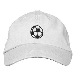 Le football casquettes brodées