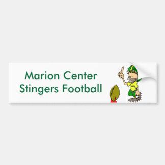 Le football central de Stingers de Marion Autocollant De Voiture