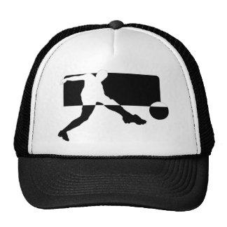 Le football casquettes de camionneur