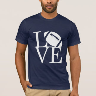 Le football d'amour t-shirt