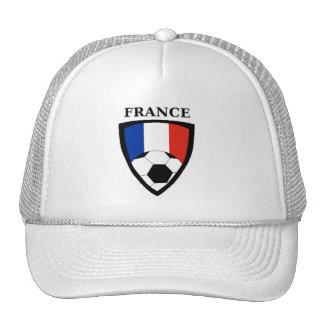 Le football de la France Casquettes De Camionneur