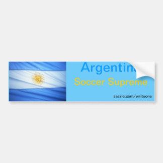 Le football de l'Argentine Autocollant De Voiture