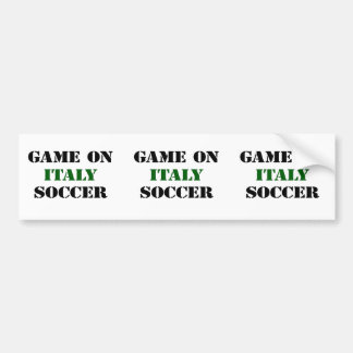 Le football de l'Italie Autocollant De Voiture