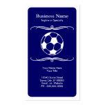 le football de mod cartes de visite personnelles