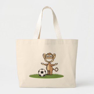 Le football de singe sac en toile jumbo