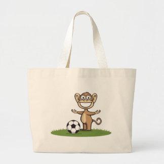 Le football de singe sacs de toile