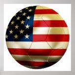 Le football des Etats-Unis Affiche