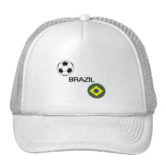 Le football du Brésil Casquettes De Camionneur