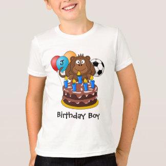 Le football du football de singe de ballon de t-shirt