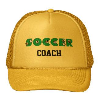 Le football en vert casquette de camionneur