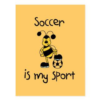 Le football est mon T-shirts et cadeaux de sport Cartes Postales